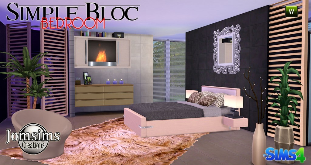 Chambre adulte sims 4 for Chambre zara home
