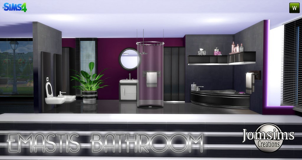 Bathroom Sims 4
