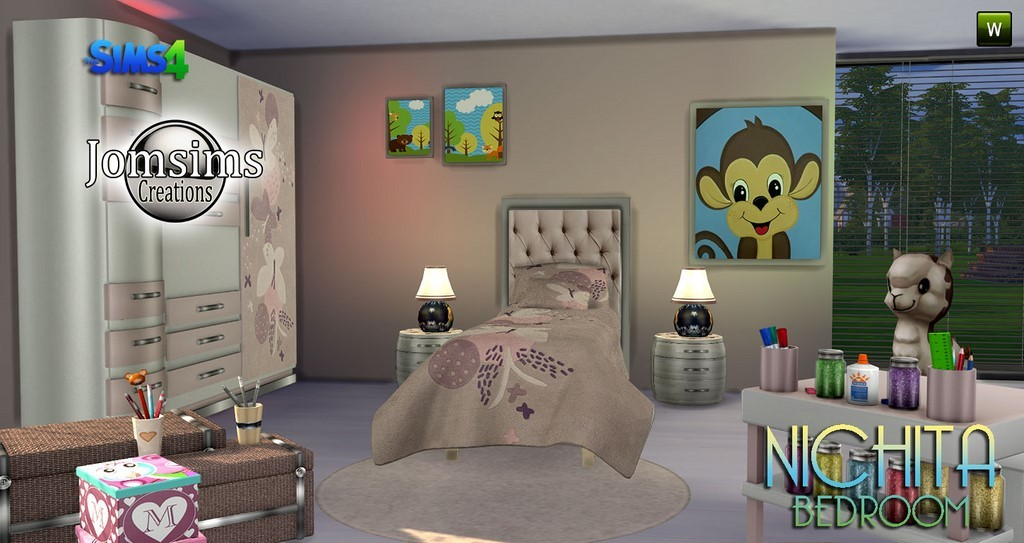 Chambre enfant sims 4 for Chambre 13 film marocain telecharger