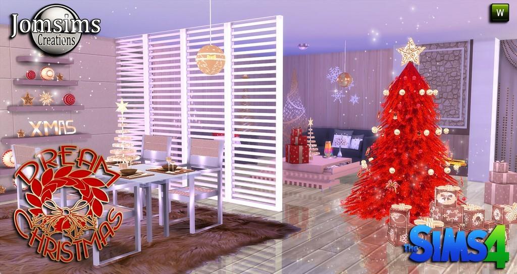Decoration de noel sims 3 for Decoration de noel salon
