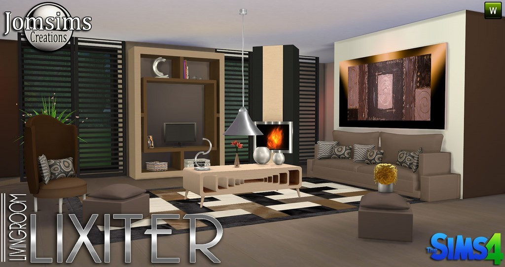 salon sims 4. Black Bedroom Furniture Sets. Home Design Ideas