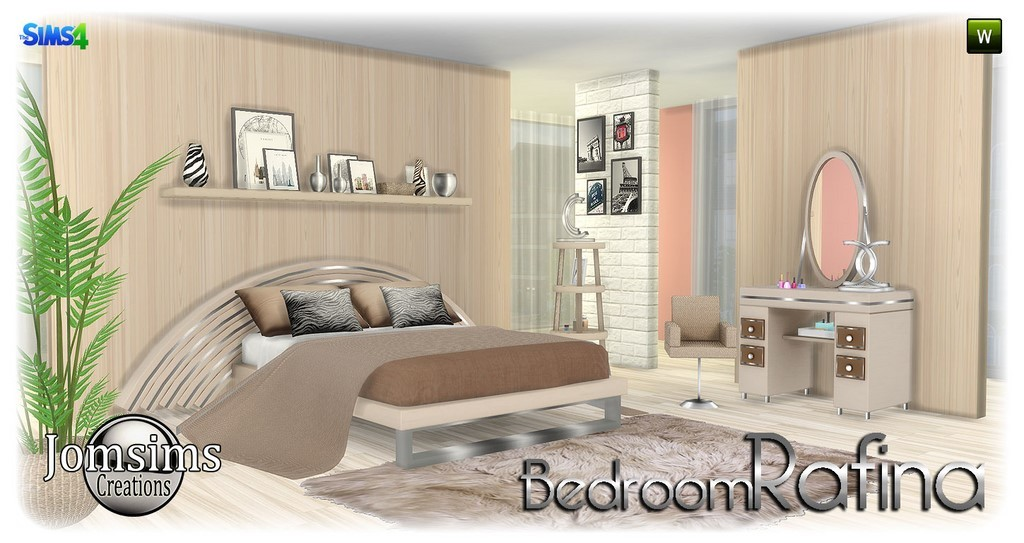 chambre adulte sims 4. Black Bedroom Furniture Sets. Home Design Ideas