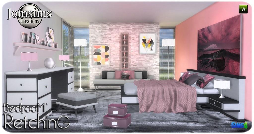 retching chambre coucher adulte sims 4 de la modernit du confort des lignes trs propres 15 nouveaux objets pour vos interieurs