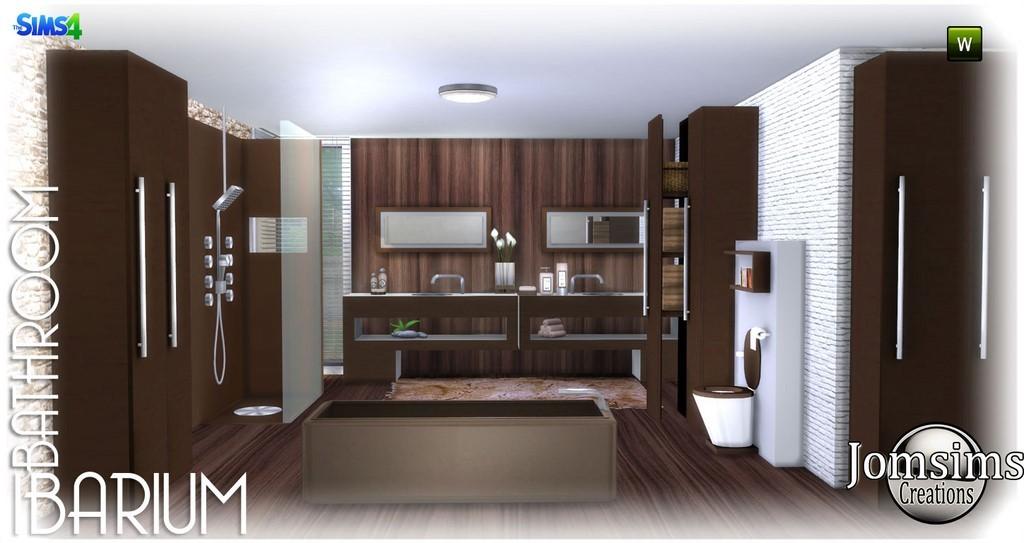 salle de bain ibarium moderne en 4 teintes baignoire 2 lavabos1 toilette avec dco1 douche 2 x set objets divers de dcorations 2 meubles