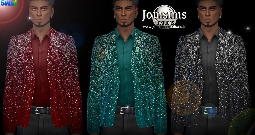 Short Sleeve Jean Jacket Men