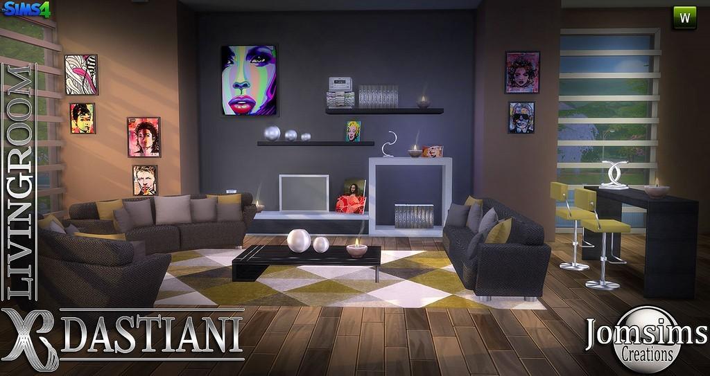 voici dastiani salon sims 4 toujours moderne et confortable sofa loveseat table caf coussins pour le sofa coussins pour le loveseat meuble