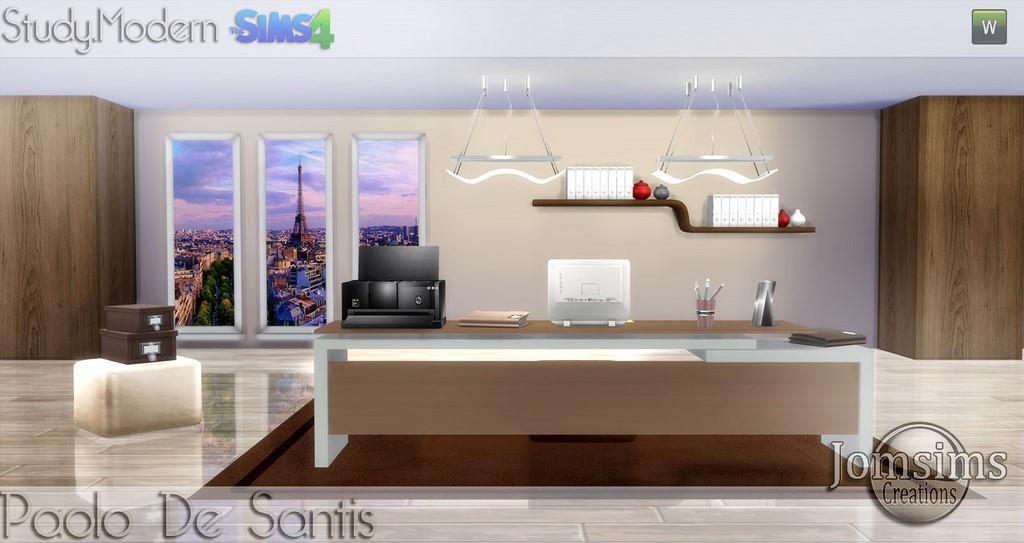Dco bureau moderne simple attractive couleur interieur maison