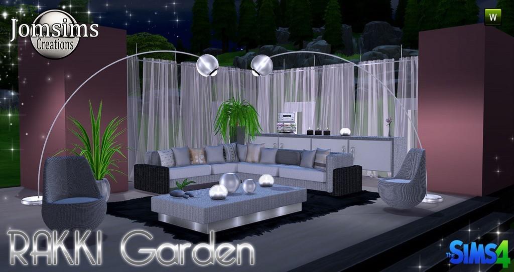 jardin sims 4