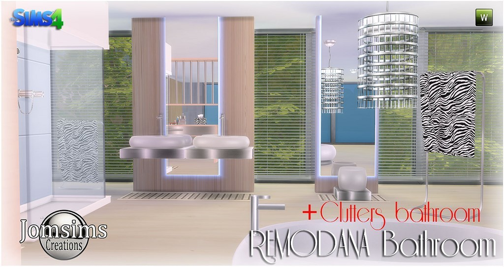 New Remodana Room Bath + Clutters Click Image To Download