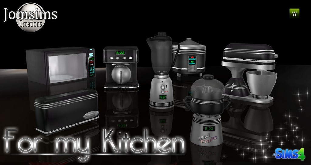Kitchen Sims 4