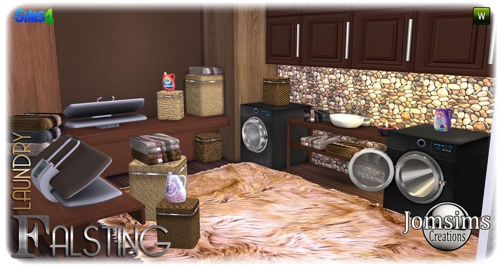 sims 4 chaleureux pour vos interieur avec des objets moderne et originaux press cabinet deco 2 machines laver 1 porte ouverte 1 porte fermer