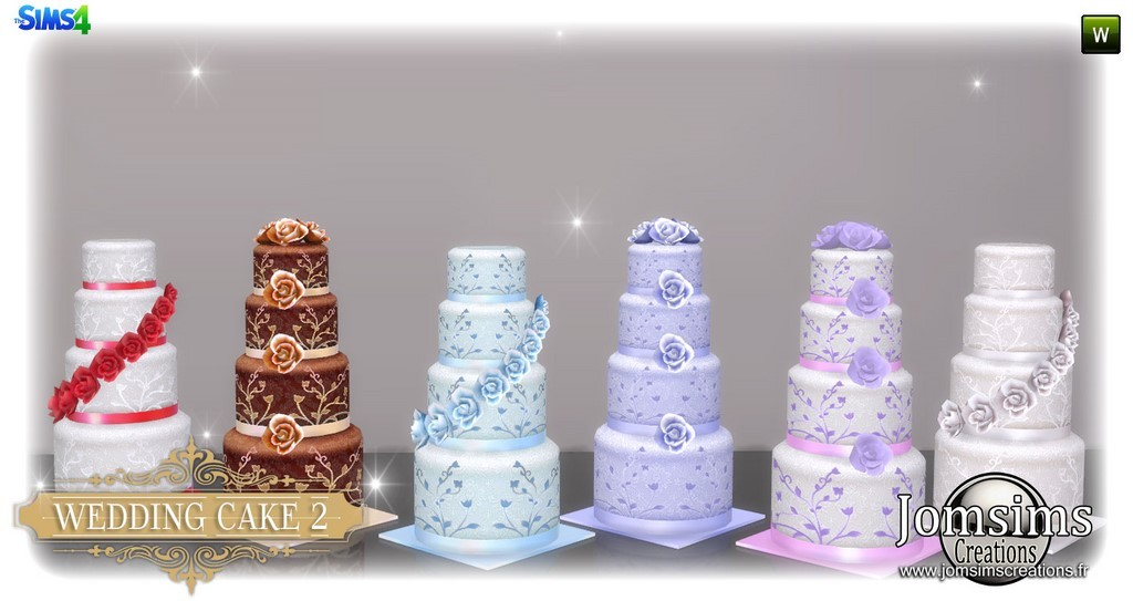 Sims  How To Make A Wedding Cake