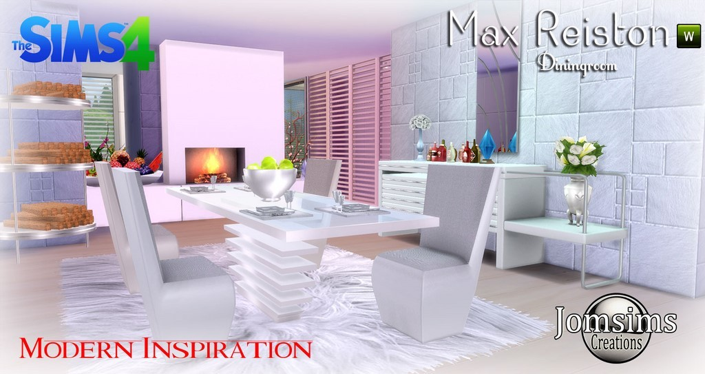 Salle manger sims 4 for Sims 4 meuble a telecharger