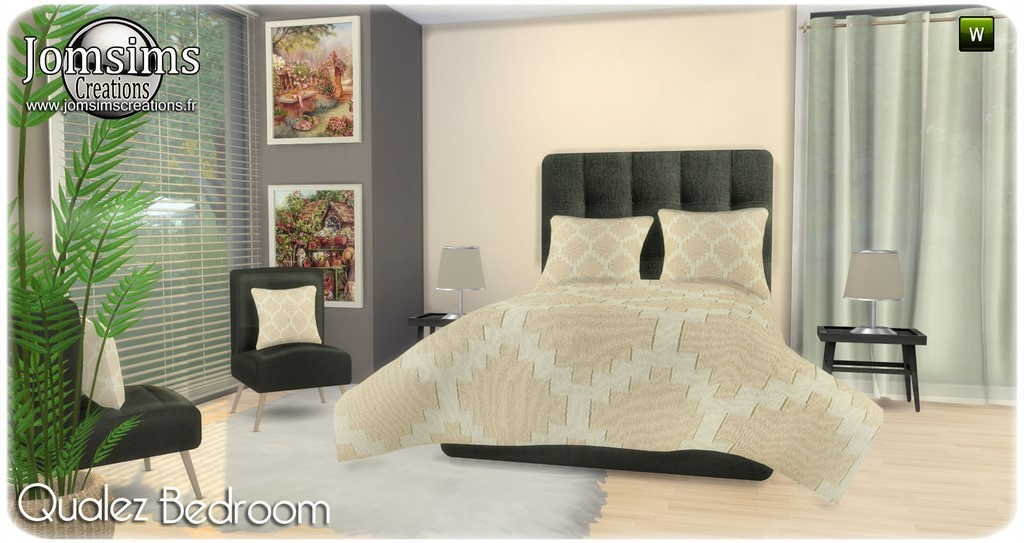 Chambre Adulte Sims