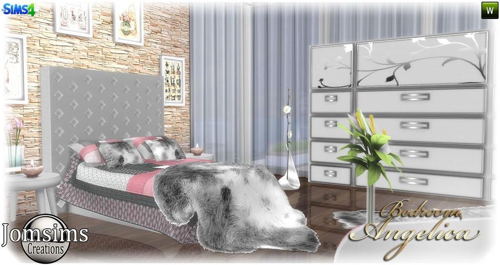 Id es de couleur cuisine armoires for Salon moderne sims 4