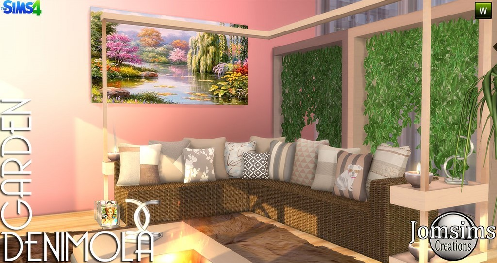 Jardin sims 4 for Sims 4 meuble a telecharger