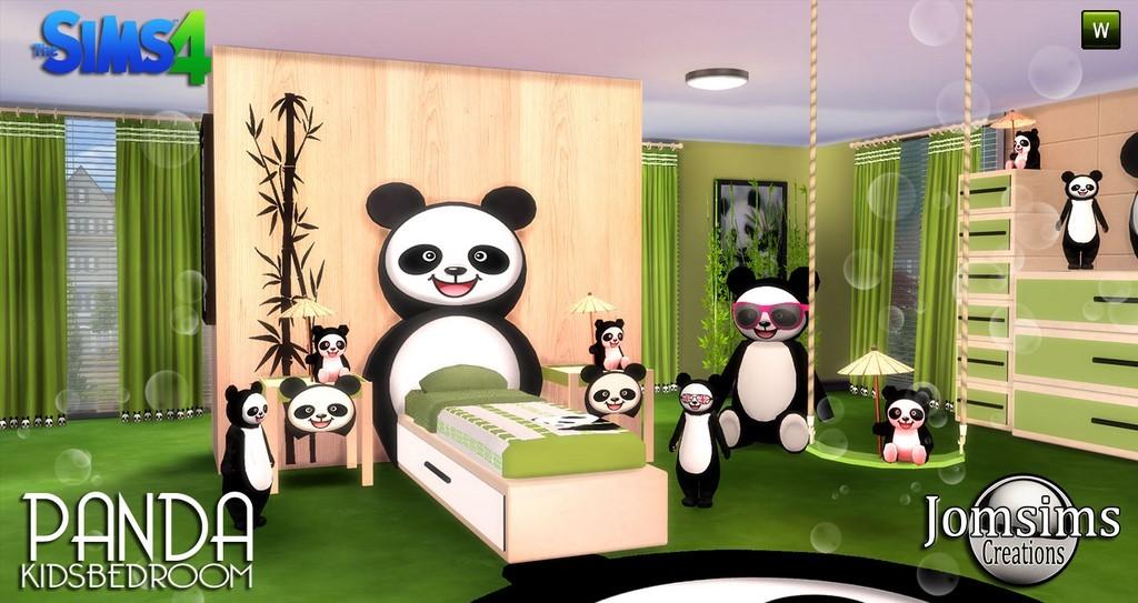 Chambre enfant sims 4 for Objet deco pour chambre