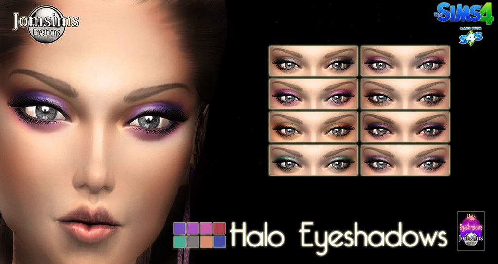 halo eyeshadows