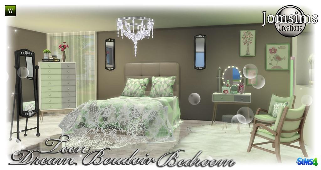 Teen Bedroom Sims 4