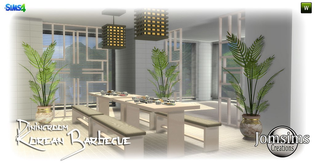 Dining Room Sets Sims 4