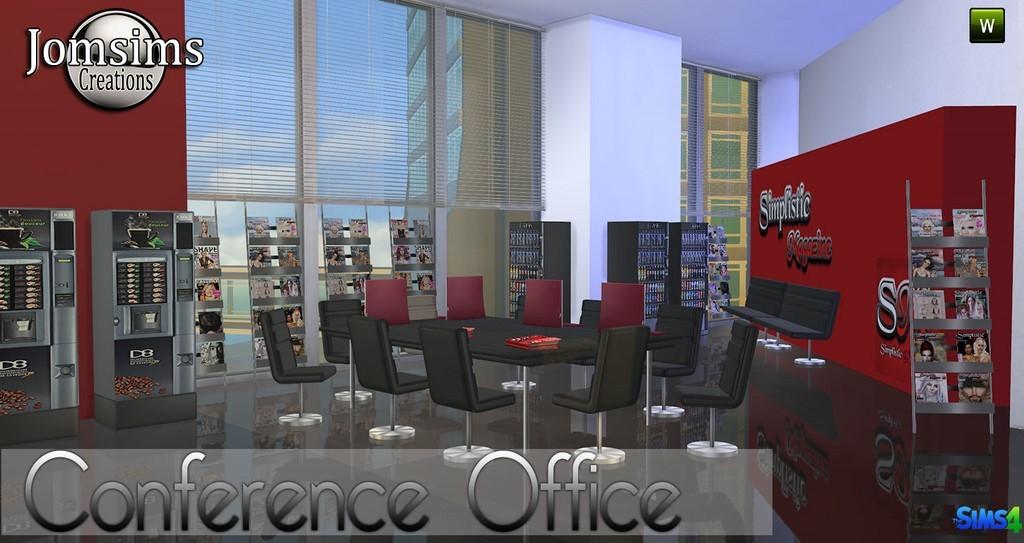 Bureau Sims 4