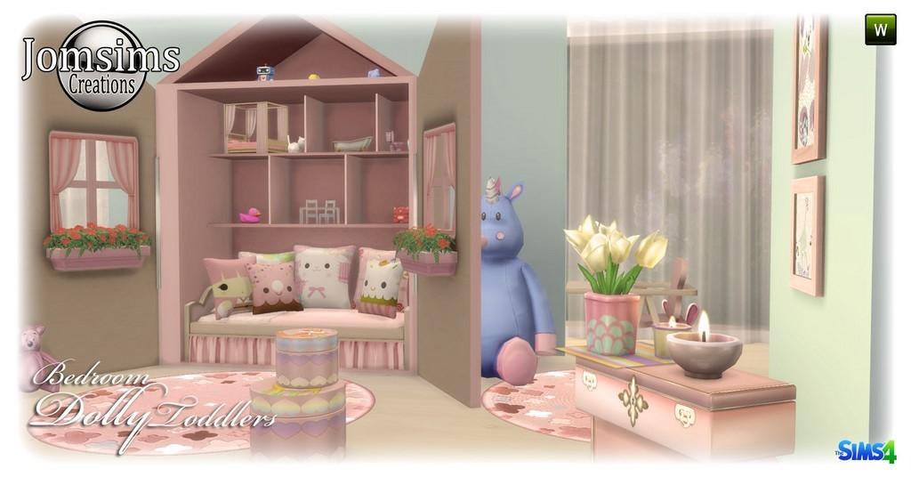 Chambre Enfant Sims 4