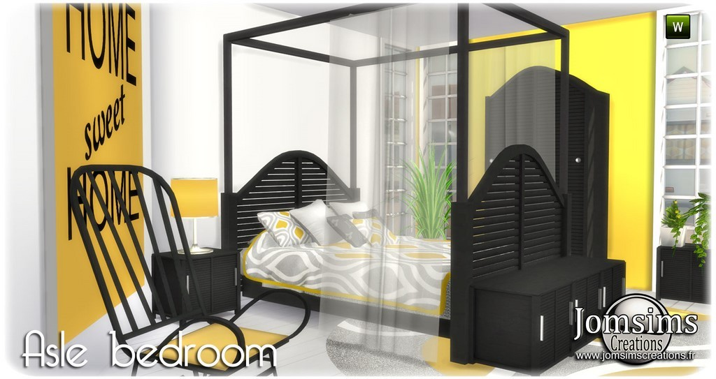Chambre Adulte Sims 4