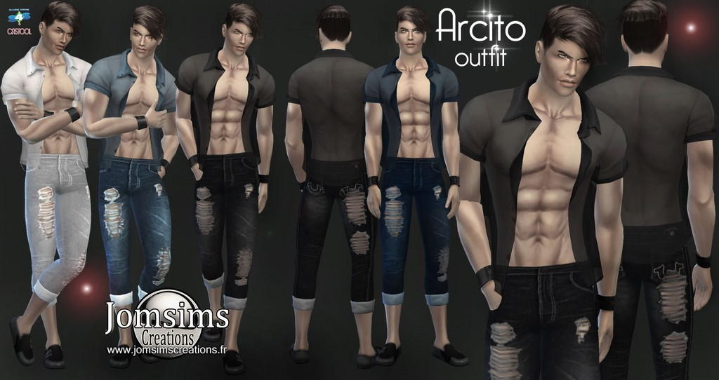 Men Clothes Sims 4